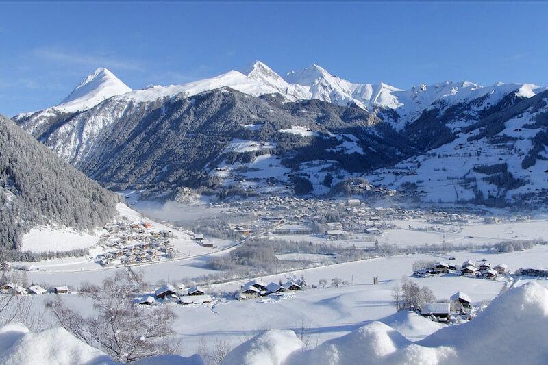 Matrei, Austria in winter © Naturhotel Outside
