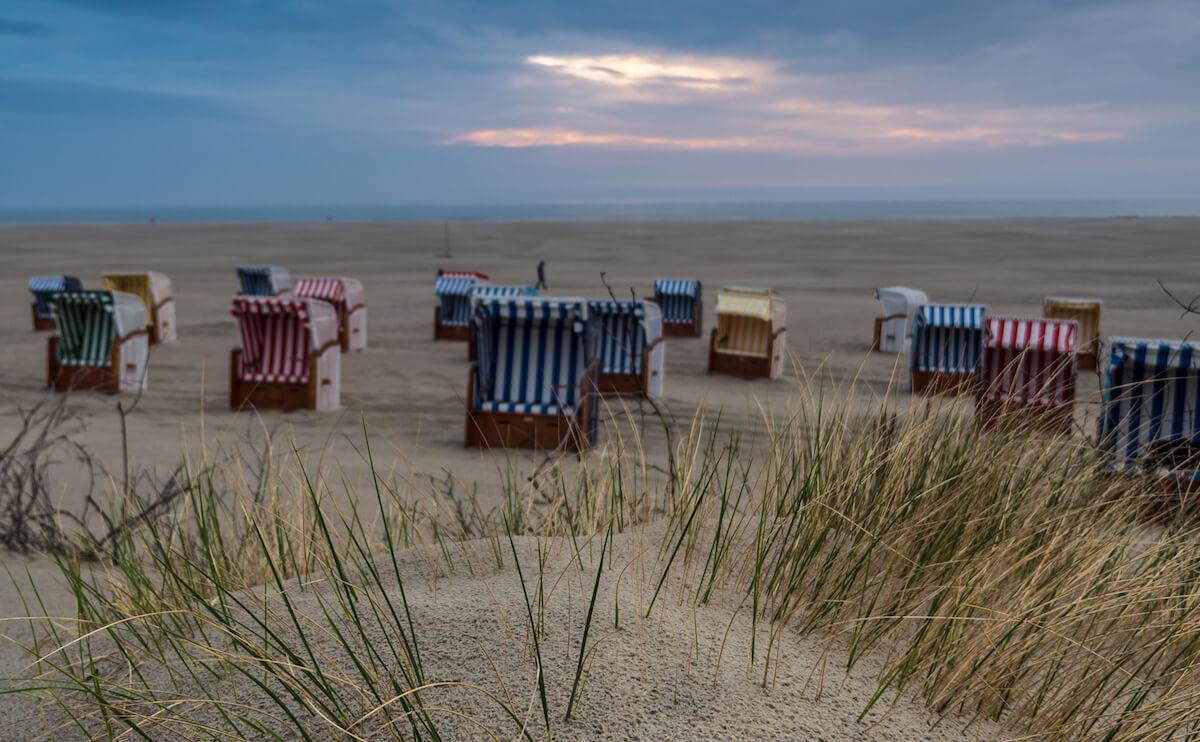 Juist's beach in winter. © KV Juist