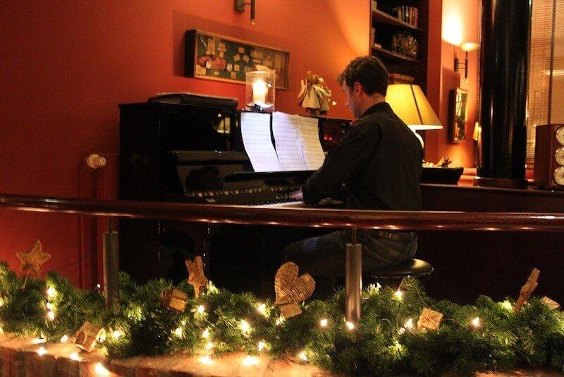 Green Christmas party: Three locations for your feast