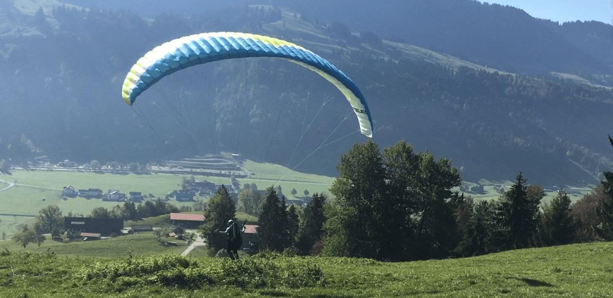 Paragliding in the Allgäu